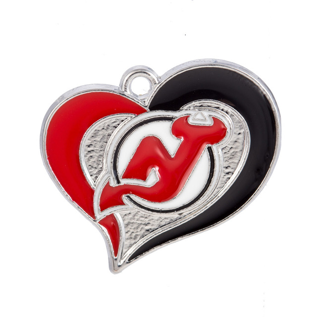 New arrivals color enamel heart new jersey devils pendant necklace new arrivals color enamel heart new jersey devils pendant necklace jewelry nhl sports team logo necklace aloadofball Image collections