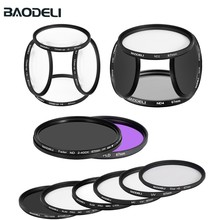 BAODELI Lens Filter Concept Nd Fld MC Uv Macro Star Polarisatie  49 52 55 58 62 67 72 77 82 mm For Nikon Canon Sony Accessories