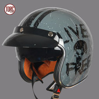 Free Shipping Original 2015 New Torc T50 3 4 DOT Certifiated Casco Capacetes Helmet Torc Motorcycle