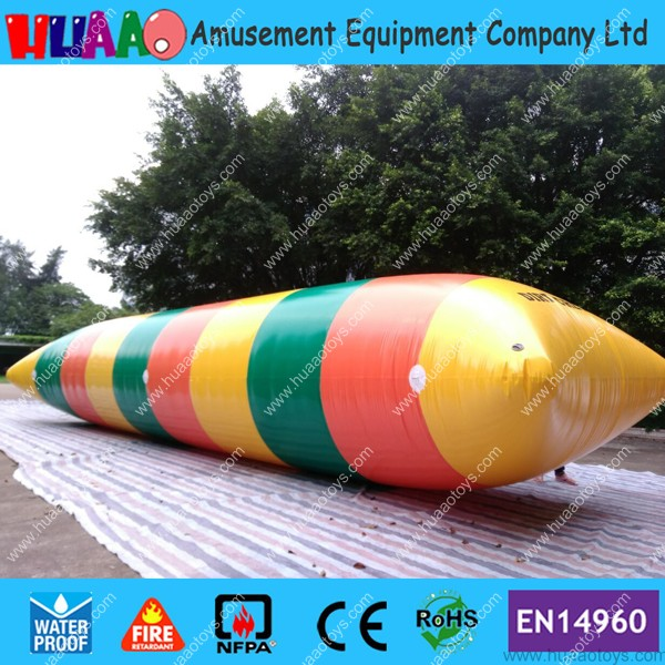 Free shipping 10m*3m inflatable water blob jump(Free pump+ repair kits)Free shipping 10m*3m inflatable water blob jump(Free pump+ repair kits)