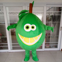 High Quality EVA Material Fruit Lemon Mascot Costume Cartoon Apparel Halloween Birthday Party Cosplay Adult Suit