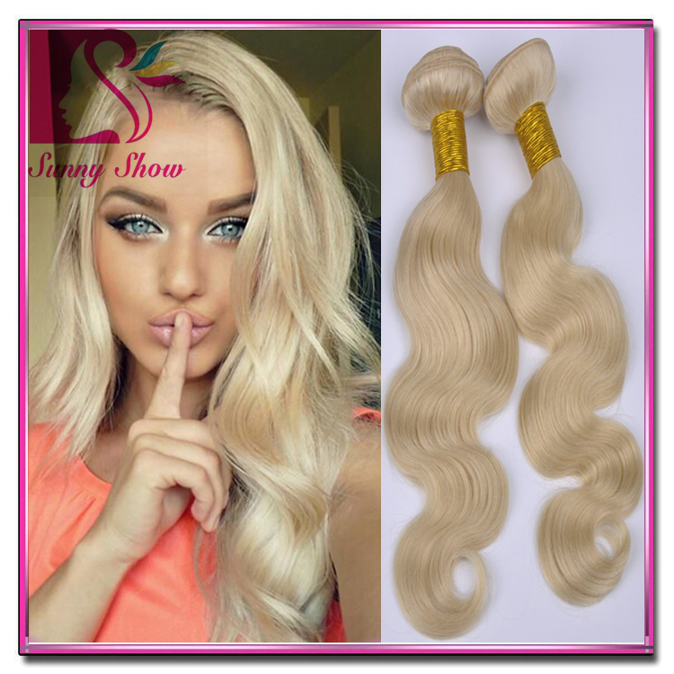 Cheap 7a Brazilian Body Wave Blonde 613 Hair Extensions 3pcs Lot