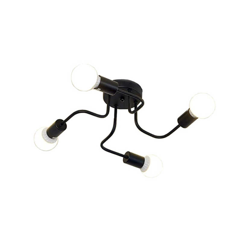 Retro Industrie Loft Nordic Rohr Schmiedeeisen Decken Licht 4 Köpfe Lampe für Home Decor Restaurant Esszimmer Cafe Bar Zimmer