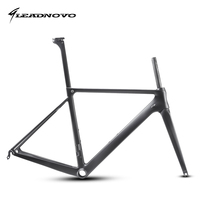 LEADNOVO T800 UD Carbon Road Bike Frame Light Weight Racing Bicycle Frameset Seatpost Fork Headset Accept