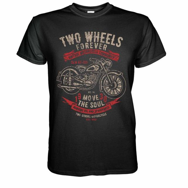 Vintage Motorcycles TShirt...