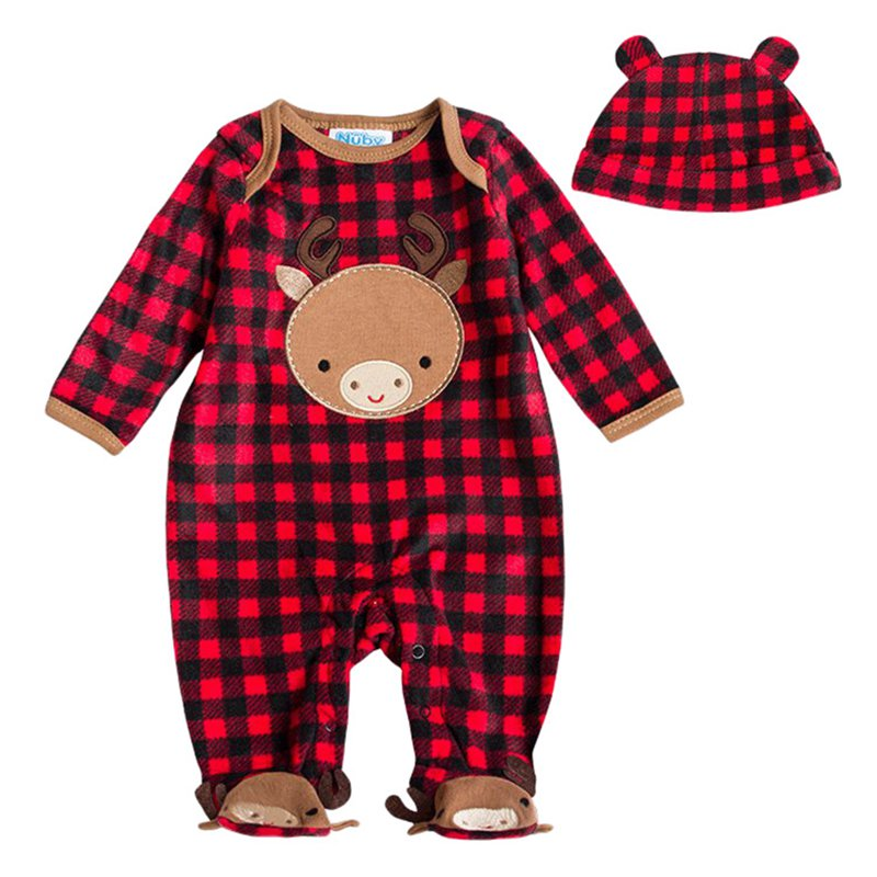 85a7b3cf3e26 Autumn Winter Baby Clothes Flannel Baby Boy Clothes Cartoon Animal ...