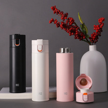 LED Digital Smart Vacuum Flask Thermos Cups Stainless Steel HOT Water Bottle Student Portable Travel Cup FDA Certificated desktop rechargeable streak retinoscope yz24b halogen bulb fda certificated with charger retinoscopy yz24b