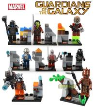 Guardians Of The Galaxy Star Lord Ronan Drax Marvel Building Blocks Bricks Sets Toy Figure Lepin