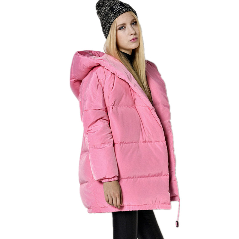 Female Overcoat Casaco Thick Down Jacket Hooded Womens Coats And Jackets Long Parka,Jaqueta Feminina,Oversized Coat Jacket C2247 hooded winter jacket women thick cotton padded parka down warm casaco feminino jaqueta feminina abrigos mujer invierno sy235
