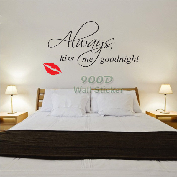 Quote wall sticker \