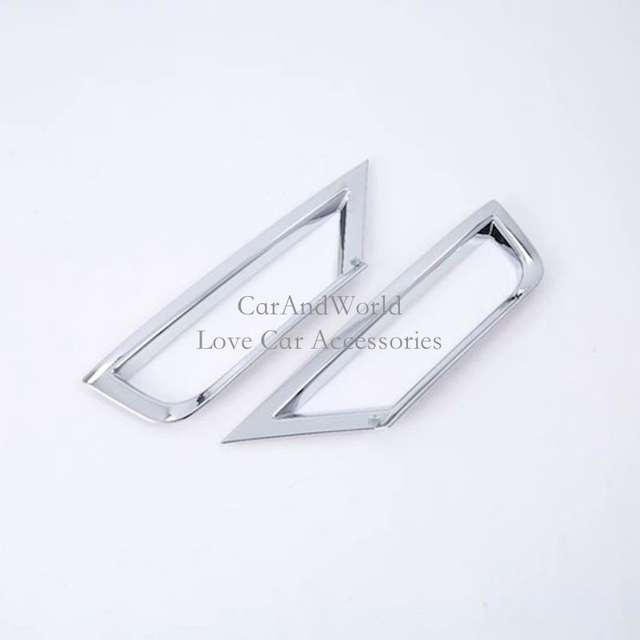 8c7e7bc5eb43a Online Shop For Volkswagen VW T-Roc TROC 2017 2018 Front Rear Fog Light  Cover Foglight Lamp Frame Trims ABS Chrome Car-Styling Accessories |  Aliexpress ...