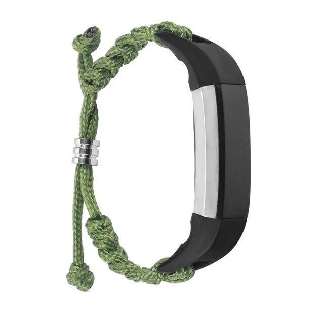 LNOP Woven Nylon strap For Fitbit Alta band Alta HR replacement band Survival Bracelet wristband watchband strap Fitbit Alta 2