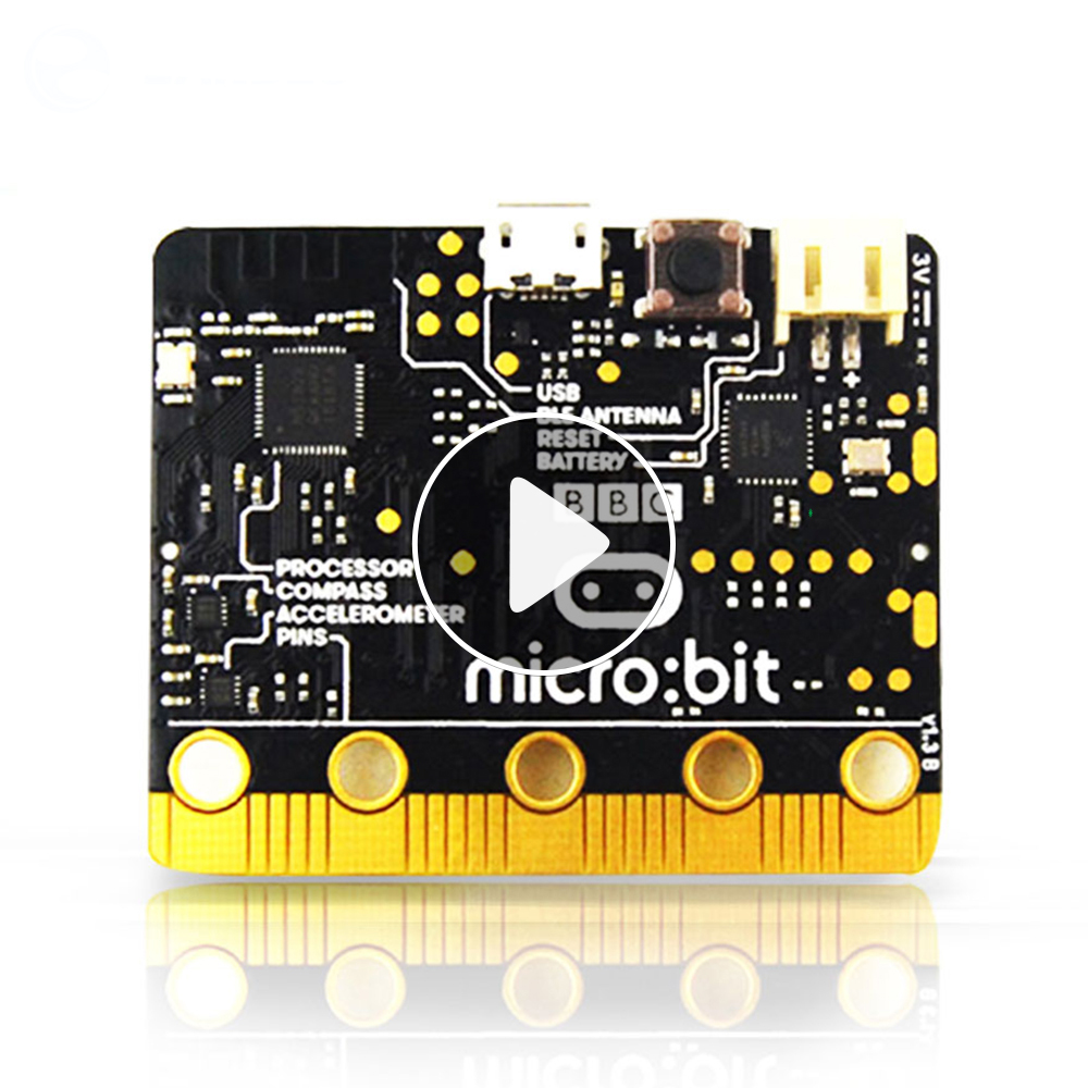 BBC micro:bit bulk micro-controller with motion detection, compass, LED display and Bluetooth