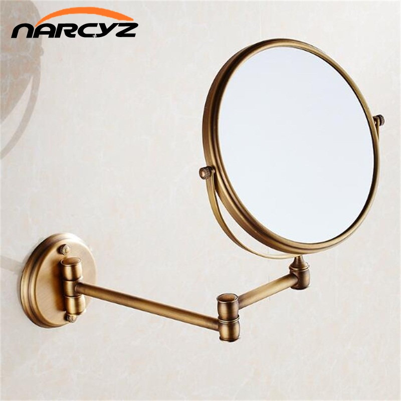 цена Bath Mirrors 3 x Magnifying Mirror of Bathroom Makeup Mirror Folding Shave 8
