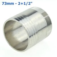 73mm Hose Barb Tail To 2 1 2 Inch BSP Male Thread Connector Joint Pipe Fitting