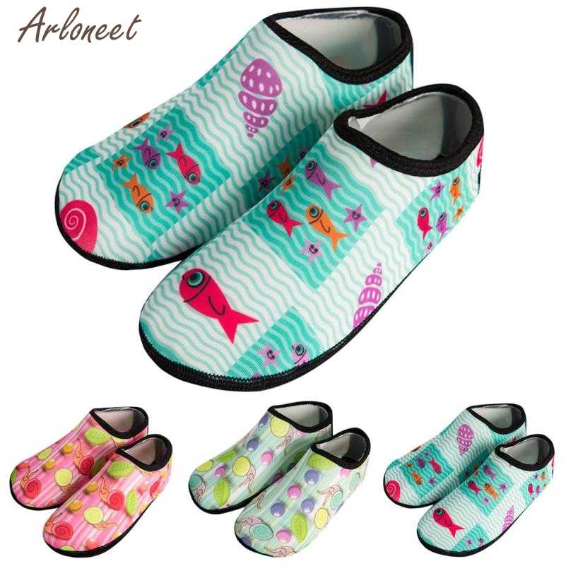 2019 zomer schoenen kids Kinderen Swimm Duiken Sokken Outdoor Water Sport Scratche Antislip Schoenen Seaside MAR6