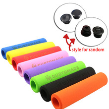 1 Pair UltraLight Anti-slip Antiskid Soft Sponge Foam Handlebar MTB Mountain Bike Bicycle Grips Outdoor Sports Cyling Tools