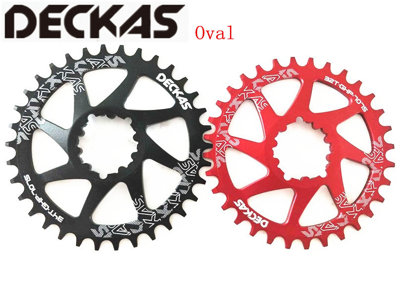 DECKAS GXP Bike MTB Mountain Bike 32T 34T 36T 38T Oval Crown bicycle chainring for XX1