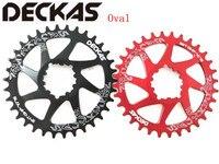 DECKAS GXP Bike MTB Mountain Bike 32T/34T/36T/38T Oval Crown bicycle chainring for XX1 Sram XO1 X1 GX XO X9 crank crankset parts