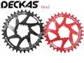 DECKAS GXP Bike MTB Mountainbike 32 T/34 T/36 T/38 T Oval Crown fahrrad kettenblatt für XX1 Sram XO1 X1 GX XO X9 kurbel kurbel teile-in Fahrrad-Kurbel & Kettenblatt aus Sport und Unterhaltung bei