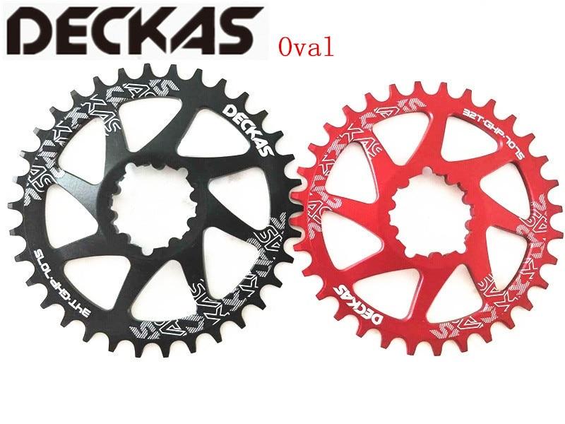 DECKAS GXP vélo vtt VTT 32 T/34 T/36 T/38 T couronne ovale vélo plateau pour XX1 Sram XO1 X1 GX XO X9 pièces de pédalier