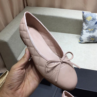 womens flats 2019 casual women genuine really leather shoes designer shoes women luxury comfortable CC shoes size 34 41