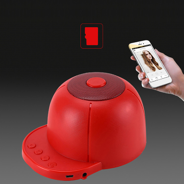Portable Bluetooth Speaker with Mic Stereo Music Subwoofer Outdoor Handfree Wireless Speaker For iPhone Samsung Xiaomi Phones