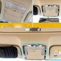 Luz de Leitura Dianteira Do Carro de Aço inoxidável decoração Tampa Apto Para Toyota Corolla 2014 2015 Car Styling