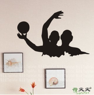 Water Polo Wall Stickers Sports Decors Polowall Decal Home Decoration China