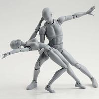 Новое боди KUN/Боди CHAN BODY-chan BODY-kun серого цвета Ver. Черный ПВХ фигурка Коллекционная модель игрушки подарки