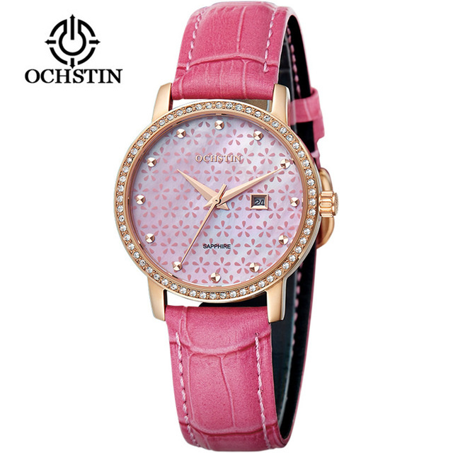 2018 New Fashion Women Watches OCHSTIN Luxury Brand Rhinestone Bracelet Watch Ladies Quartz Wrist Watches Relogio Feminino