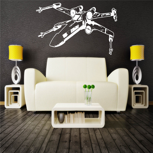 DIY Star Wars Wall Stickers
