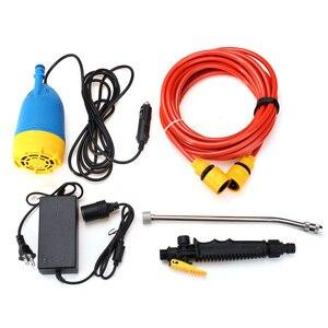 12V 80W High Pressure Car Washer Kit Water Wash Pump Car Campervan Sprayer Suit(China)
