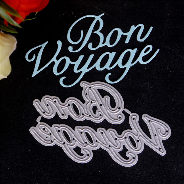 French word Cards Making Metal Cutting Dies For DIY Scrapbooking Photo Album  Paper Decorative Crafts Die Cut