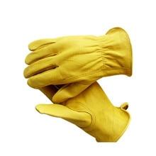 Work Gloves Gardening Outdoor Riding Warm Climbing Climbing Wear Labor Protection Security Working Gloves Men  Welding Gloves все цены
