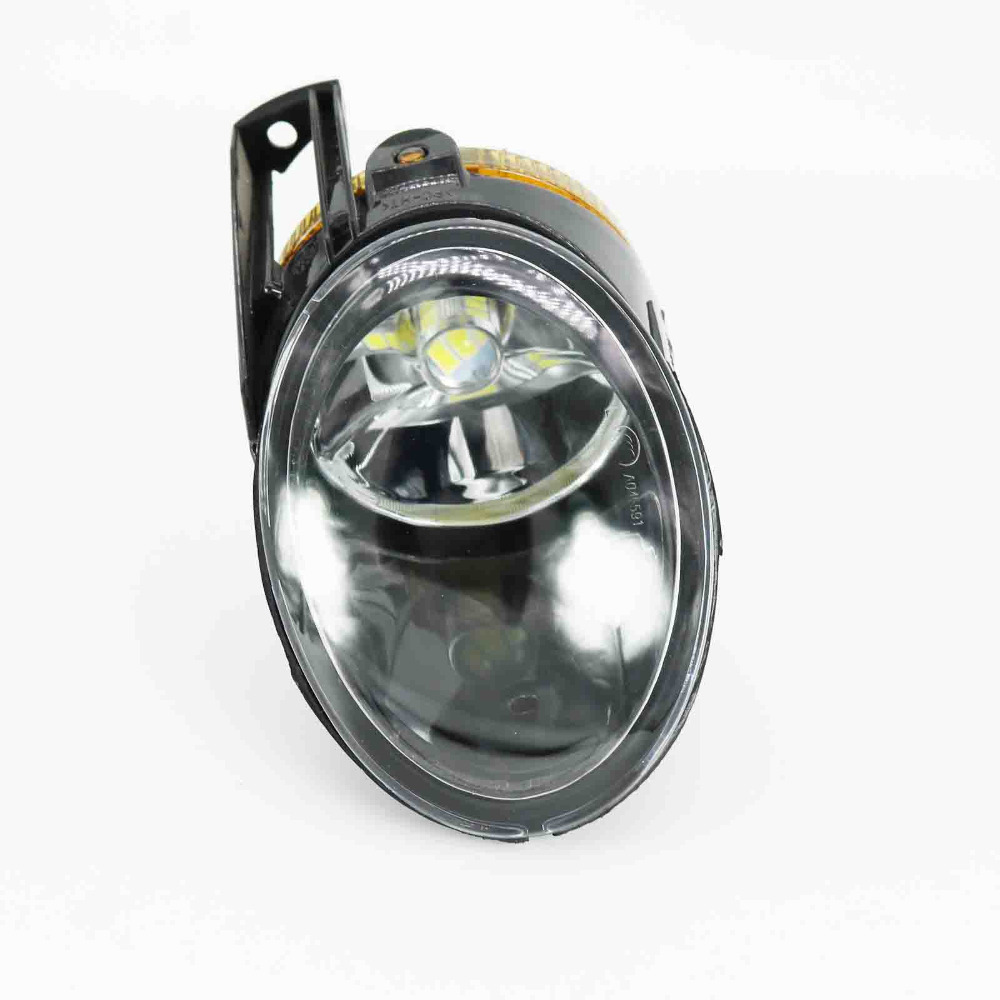 For VW Passat B6 2006 2007 2008 2009 2010 2011 Front High Quality Left Side LED Fog Lamp Fog Light daytime running light for vw volkswagen passat b6 2007 2008 2009 2010 2011 led drl fog lamp cover driving light