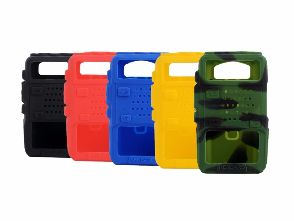 Rubber Soft Handheld Case Holster For Radio BAOFENG BF UV-5R UV-5RA UV-5RB UV-5REPlus TF-UV985 TYT TH-F8