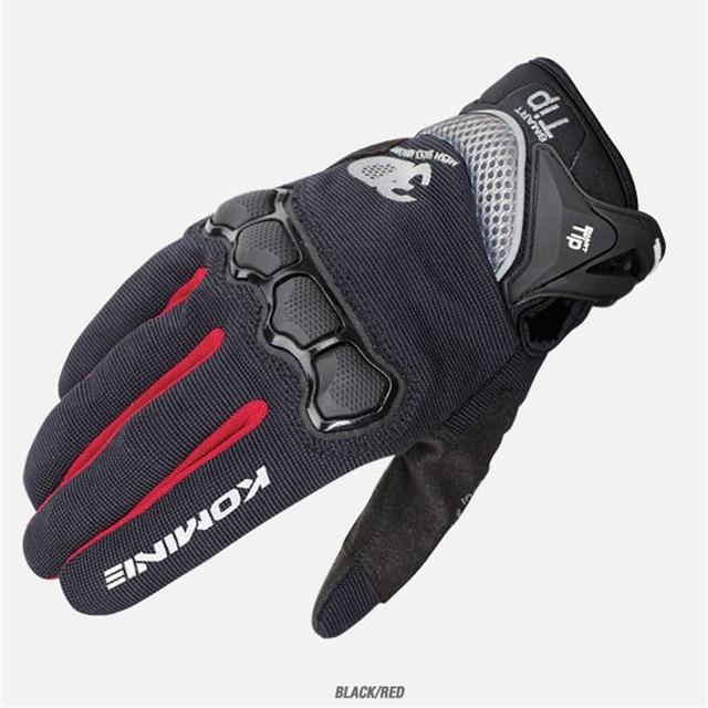 New Summer Touch Screen KOMINE GK162 3D Mesh TECHNOLOGY Motorcycle Rding glove motorbike Moto racing gloves M-XXL 1