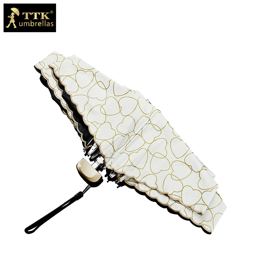 schnüren Sie sich Regenschirmfrau 5 falten Regenschirme super mini - Haushaltswaren - Foto 1