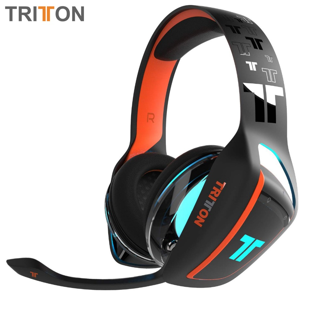 TRITTON ARK 120 Amplified Stereo RGB Gaming Headset for Playstation 4, Xbox One, Nintendo Switch yongnuo yn128 yn 128 camera photo studio phone video 128 led ring light 3200k 5500k photography dimmable ring lamp