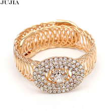 Classic Luxury charm Bracelet Vintage Bracelets Bangles Crystal Bracelet Jewelry For Women
