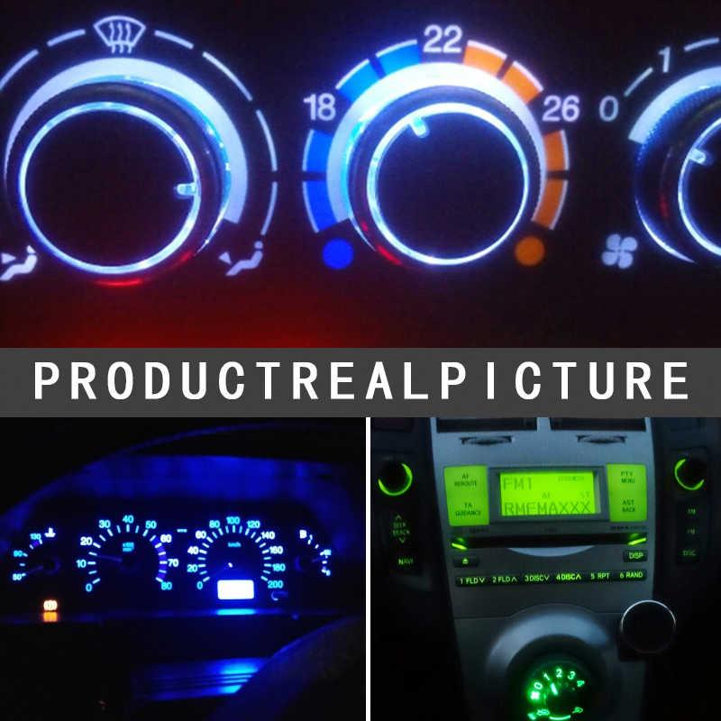 10 шт., интерьерный светильник T3 T4.2 T4.7 T5, клиновидный светодиодный светильник, автомобильный инструмент, лампочка, 12 В, автомобильный Стайлинг, Автомобильный светодиодный светильник