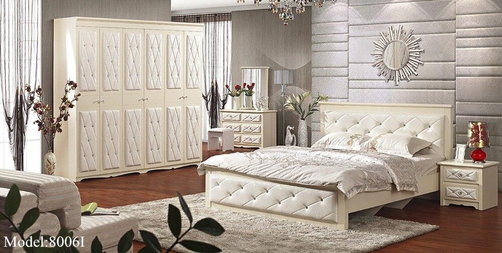 2016 para quarto nightstand bed room furniture set hot modern wooden sale new design bedroom sets - Bedroom Sets Designs
