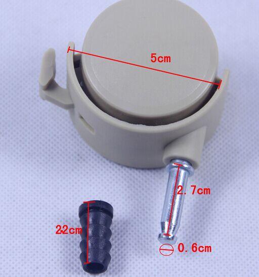 Durable accesorios ruedas de goma ruedas cama cuna cuna for Ruedas de goma para sillas
