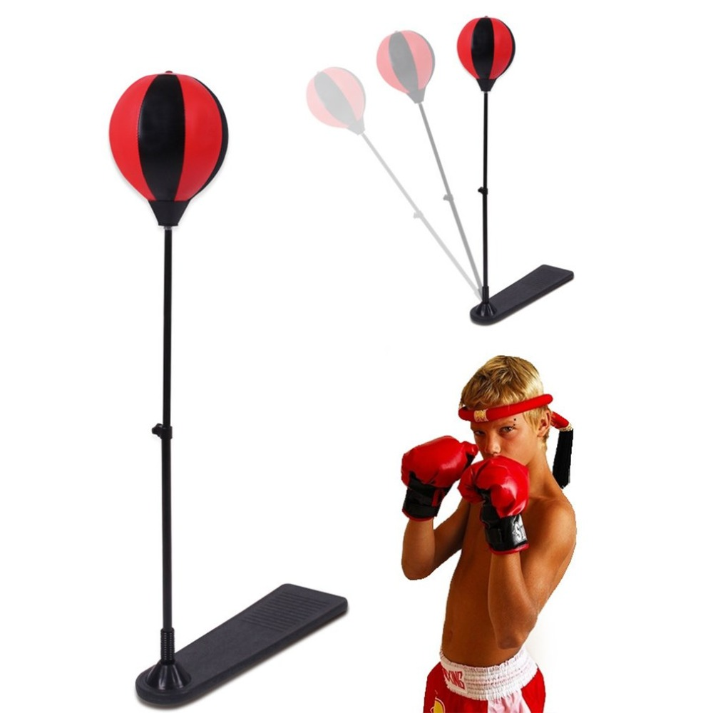Us 32 45 39 Off Portable Size Stress Relief Boxing Punch Pear Sd Ball Relaxed Punching Bag Set Training Tools In