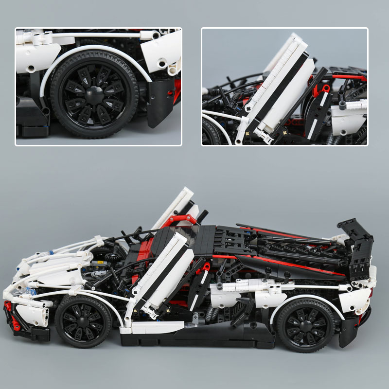 Lepin 23006 Genuine Technic Series The Super Racing Car Set MOC-3918 Model Building Blocks Bricks Kits ducational Toys Boy Gifts