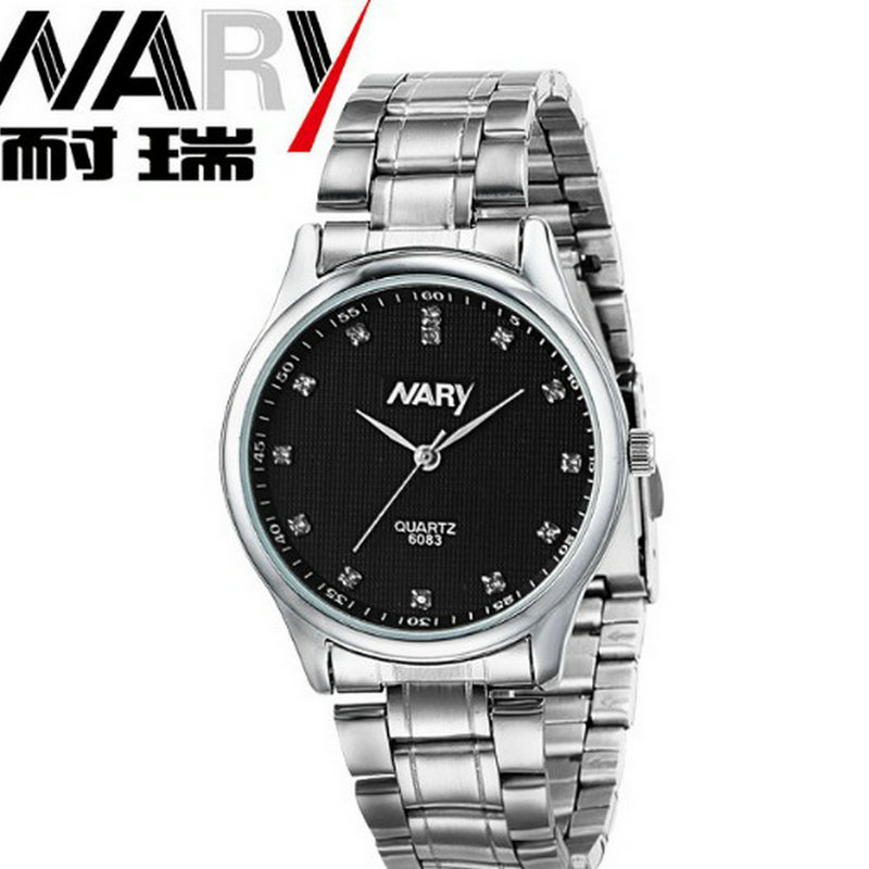 Business casual fashion watch features Diamond Dial strip of male and female students in outdoor sports with retro lovers Watch point systems migration policy and international students flow