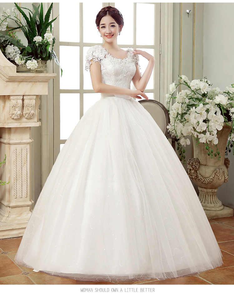 cd1f7ede8 ... 2019 летние кружевные платья длиной до пола для свадьбы vestido  Casamento принцесса банкетвечерние Свадебные платья robe ...