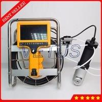VT-140R 20 м 8 ГБ SD карты 360 градусов вращения Камера DVR видеонаблюдения змея дымоход инспекции Камера с счетчик функция