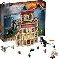 Compatible LegoINGly 75930 79180 75929 75928 75933 Jurassic Worlds Park Dinosaur Indoraptor Rampage At Lockwood Estate Brick Toy